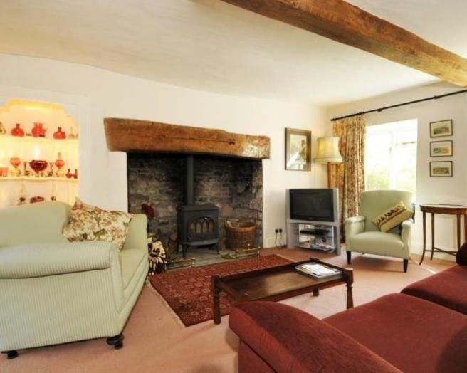 wood burning stove cottage - Google Search | Country style ...