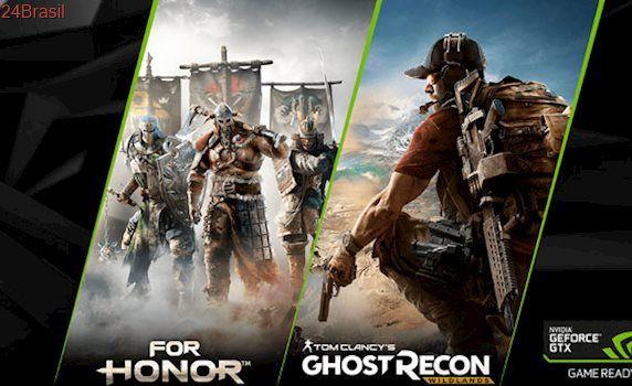 Promoção da Nvidia dá chave de For Honor ou Ghost Recon na compra de GTX 1060