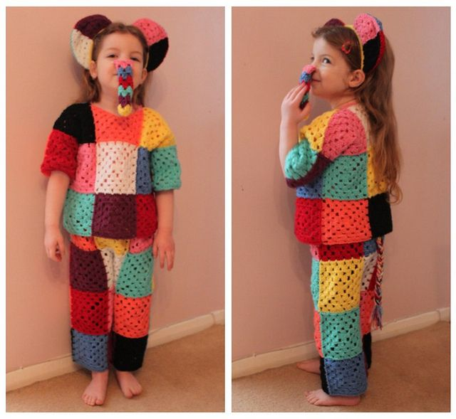 World Book Day, Elmer Costume  my beautiful granddaughter xxx