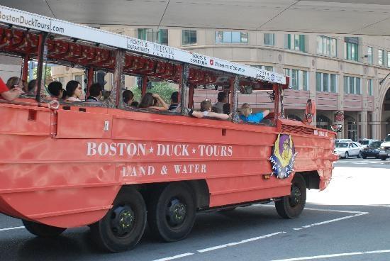 Boston duck tour case