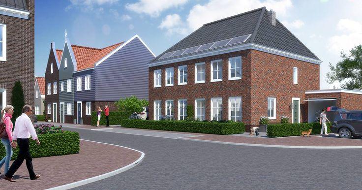 In De Pauw komt een viertal ruime 2 onder 1 kapwoningen, met een woonoppervlakte van circa 139 m2 en aangebouwde garage.Er komt één tweekapper met een donkere steen en één met een lichte steen. Welke heeft jouw voorkeur?