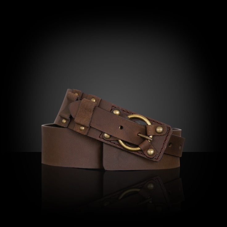 Natural leather belt. $18.31