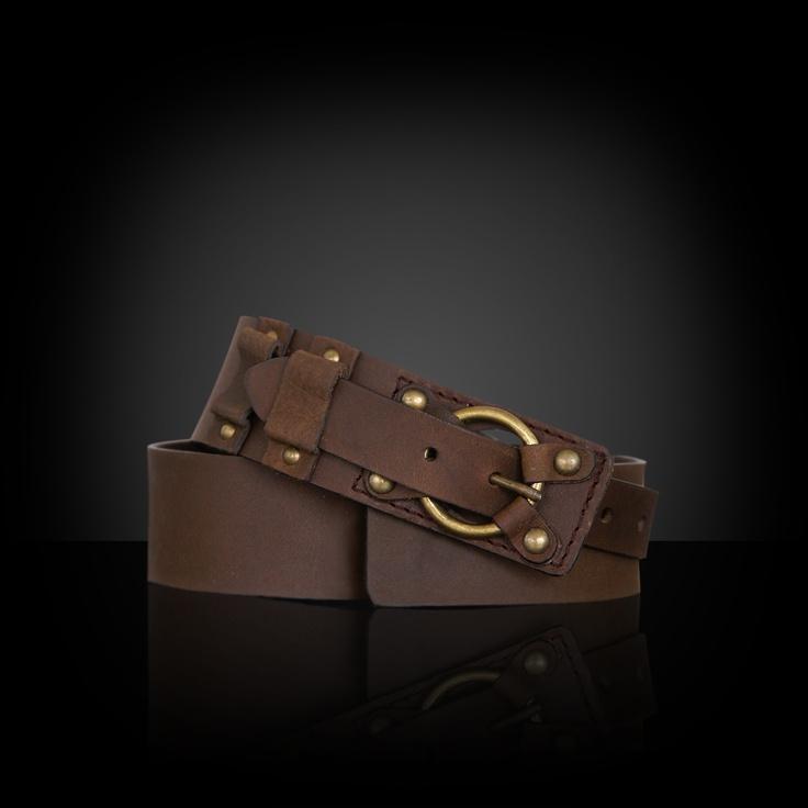 Natural leather belt. $18.31