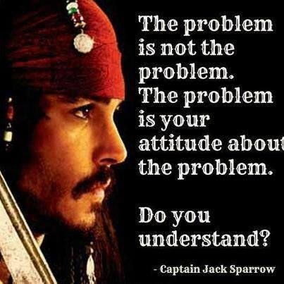 Daily quotes  the problem is your attitude about it ~  inspirational quotes pictures