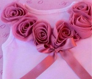 Vintage rose singlet