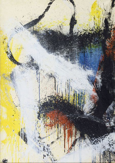 Norman Bluhm | Composition, 1962 (1962) | Available for Sale | Artsy