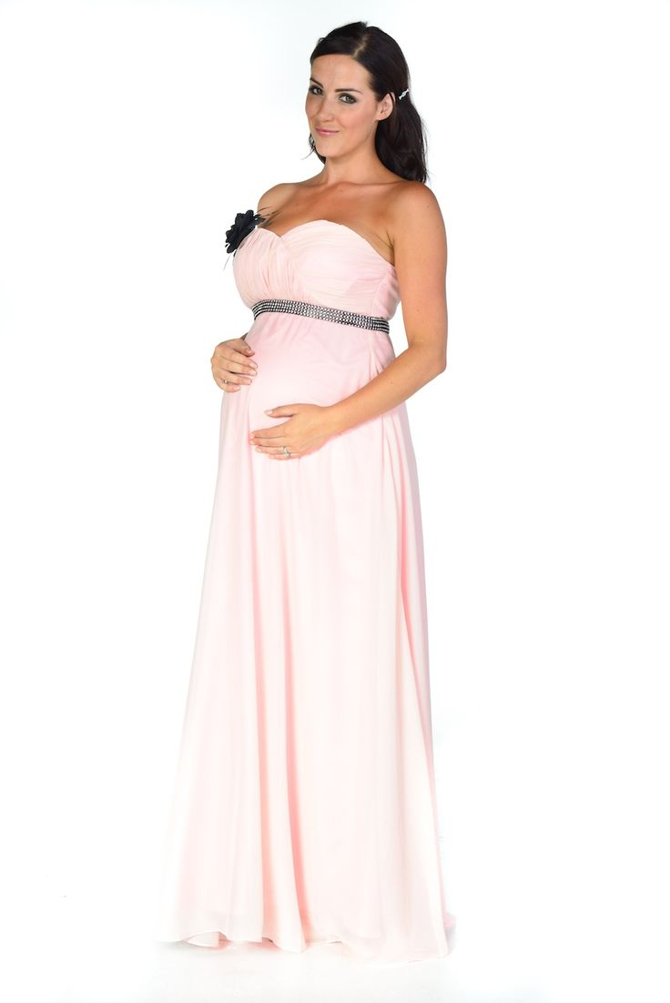 25 best maternity party dresses ideas on pinterest maternity fashionable pink maternity evening ball dresses for white tie ombrellifo Gallery