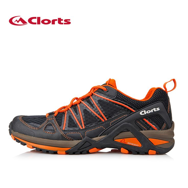 Clorts New Men Sport Trail Shoes Mesh Walking Outdoor Shoes Breathable Runner Athletic Shoes 3F015A/B