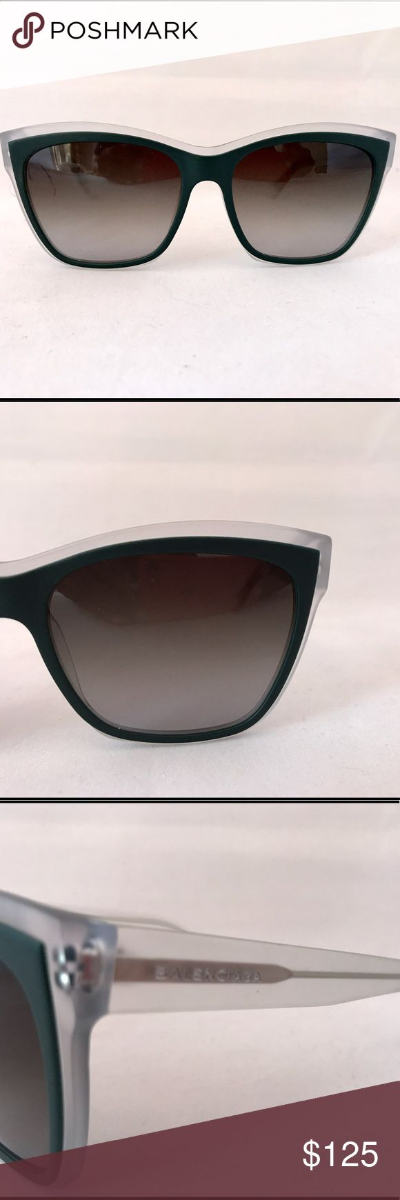 Balenciaga sunglasses Balenciaga sunglasses new but does not ship with original retail case no scratches no blemishes new model number is BA 6698 I ship fast Balenciaga Accessories Sunglasses