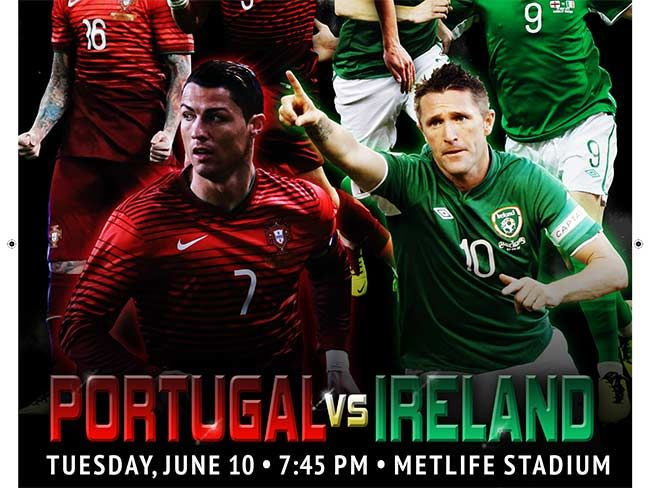 Your kid could be Team Ireland's soccer mascot in the MetLife Stadium this June!! GIVING AWAY 2 FREE TICKETS! (click into photo for more info) #competition #soccer #ireland #portugal #team #mascot #game