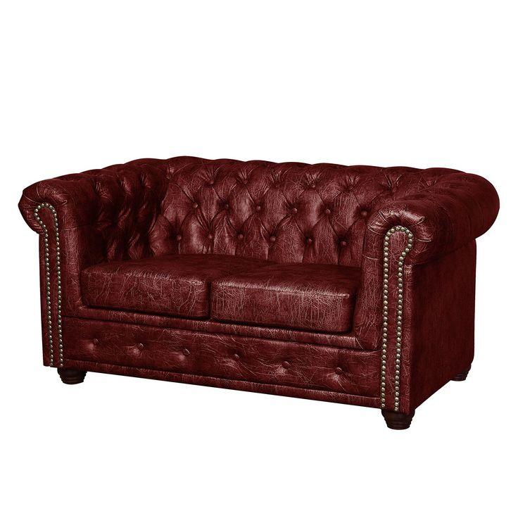 Sofa Kamaru (2-Sitzer) Kunstleder - Bordeaux, ars manufacti Jetzt bestellen unter: https://moebel.ladendirekt.de/wohnzimmer/sofas/2-und-3-sitzer-sofas/?uid=27268714-231e-5cfb-b5a0-20f110845f0e&utm_source=pinterest&utm_medium=pin&utm_campaign=boards #möbel #ars #sofas #manufacti #3sitzersofas #wohnzimmer #couches