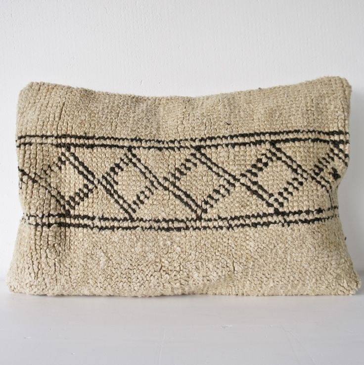 We have made beautiful cushions made from vintage Moroccan rugs