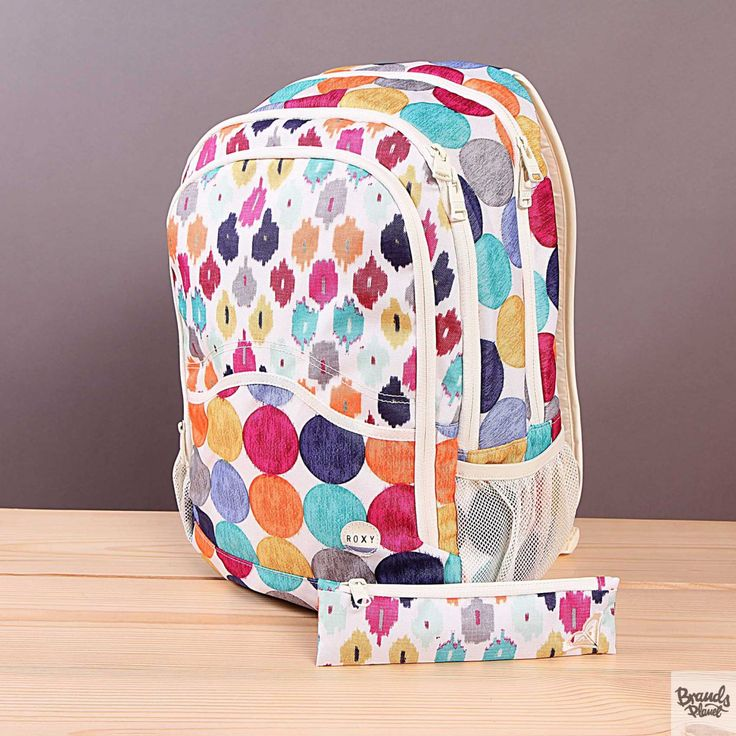 Plecak szkolny Roxy Charger Acapulco Dots  / www.brandsplanet.pl / #roxy