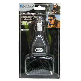Cardo Vehicle Battery charger for Scala Rider, Teamset, BT Intercom, BT Rider, Scala FM, Q2 - http://www.biketrade.co.uk/?product=cardo-car-charger-for-scala-rider-teamset-bt-intercom-bt-rider-scala-fm-q2