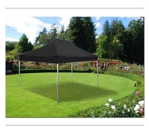 TENTFLAG - GAZEBO BLACK - Our foldable Tents are very stable because of their 30x30mm Aluminum frame and the genius Lattices Technology makes them very easy to set up - without any tools! Therefore our Pavilions are perfect for exhibitions, fairs, sport, music and other outdoor events as well as almost every weather conditions.