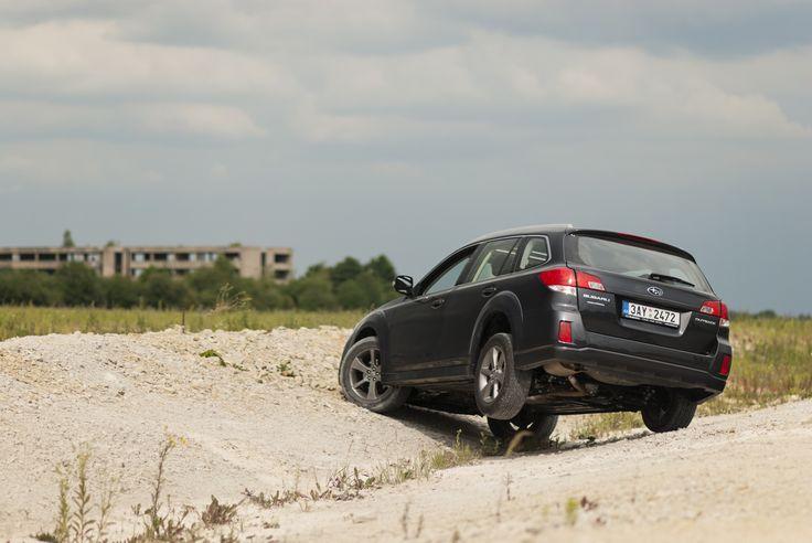 Prostě zaparkujte, kde se vám to zrovna hodí. #outback