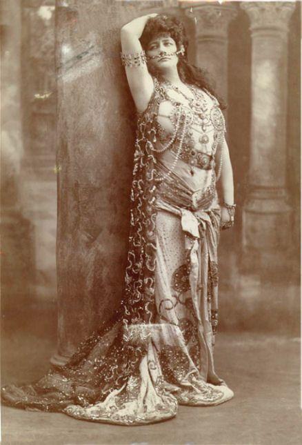 Olive Fremstad as 'Salome'.