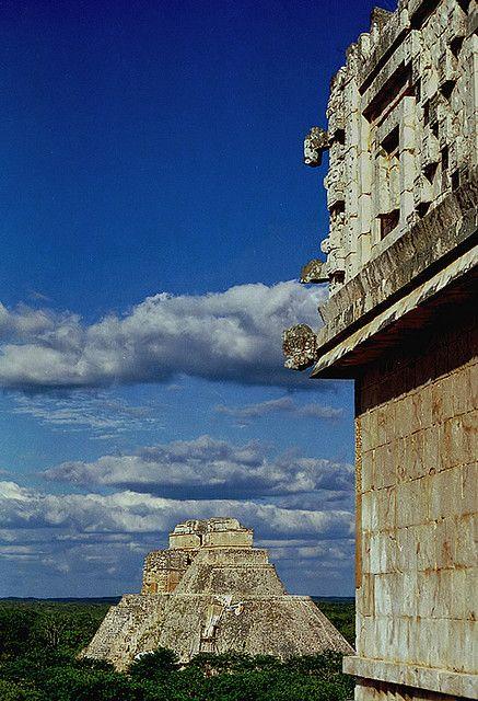 México, Yucatán - Uxmal, ciudad maya