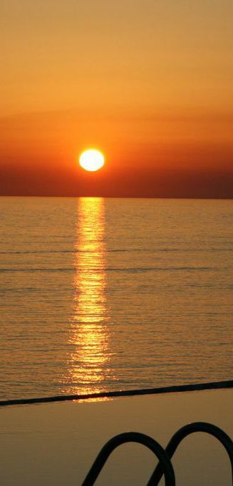 Sunset from Tersanas in Chania - Villa Chrissi