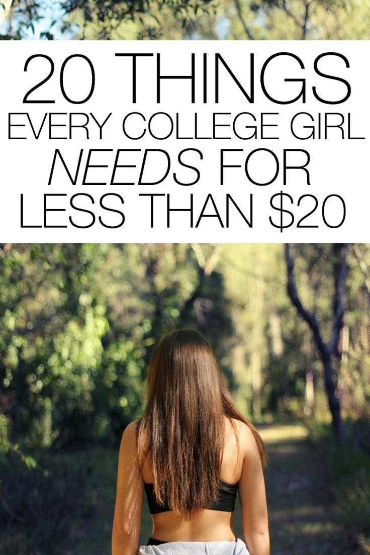 20 Things Every College Girl Needs for Less than $20