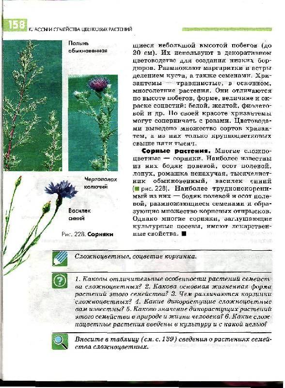 Гдз по биологии 6 класс учебник викторов онлайн