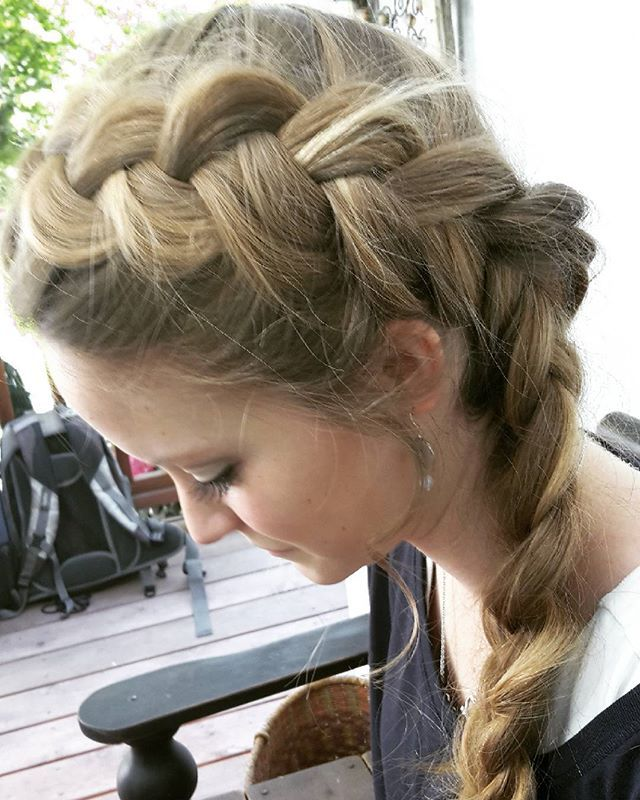 Pancake dutch braid #thebraidedsisters #braids #pancakebraids #ehsfishtaildutchcontest