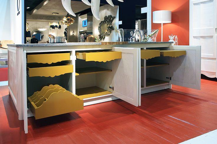 marchettimaison.com ACQUACOTTA kitchen BORDOLESE model