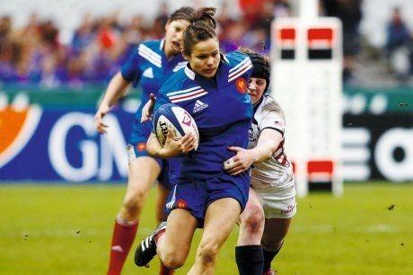 Rugby féminin - Seven World Series : mission Atlanta pour Camille Grassineau et les Bleues - France Bleu - 11/03/2015