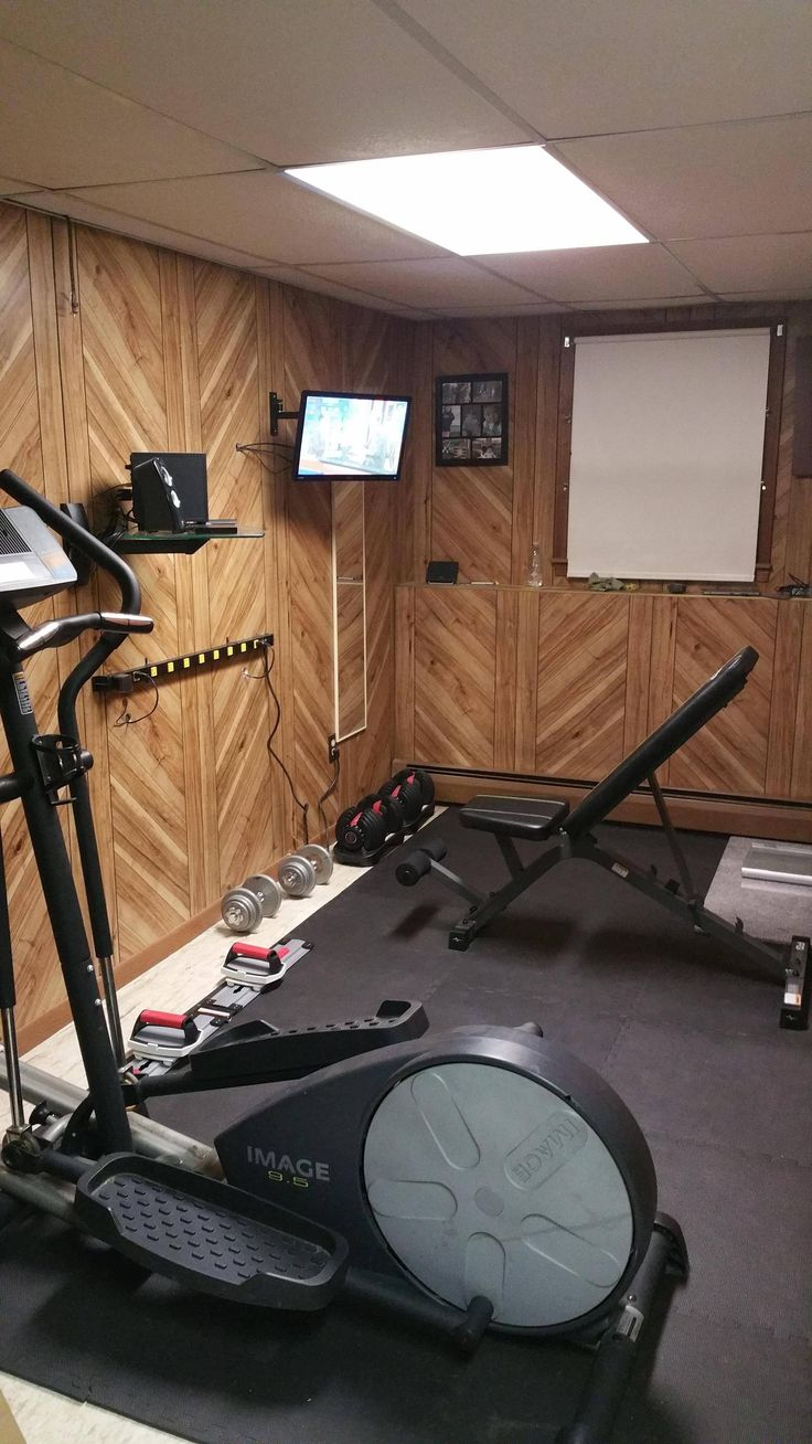 Diy home gym  40 best DIY Home Gyms images on Pinterest | Home gyms, Gym and ...