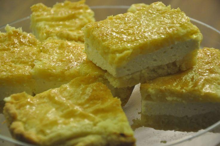 Voyage au pays de la patisserie: Tvarohový koláč