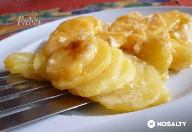 Francia krumpli Fahéj konyhájából