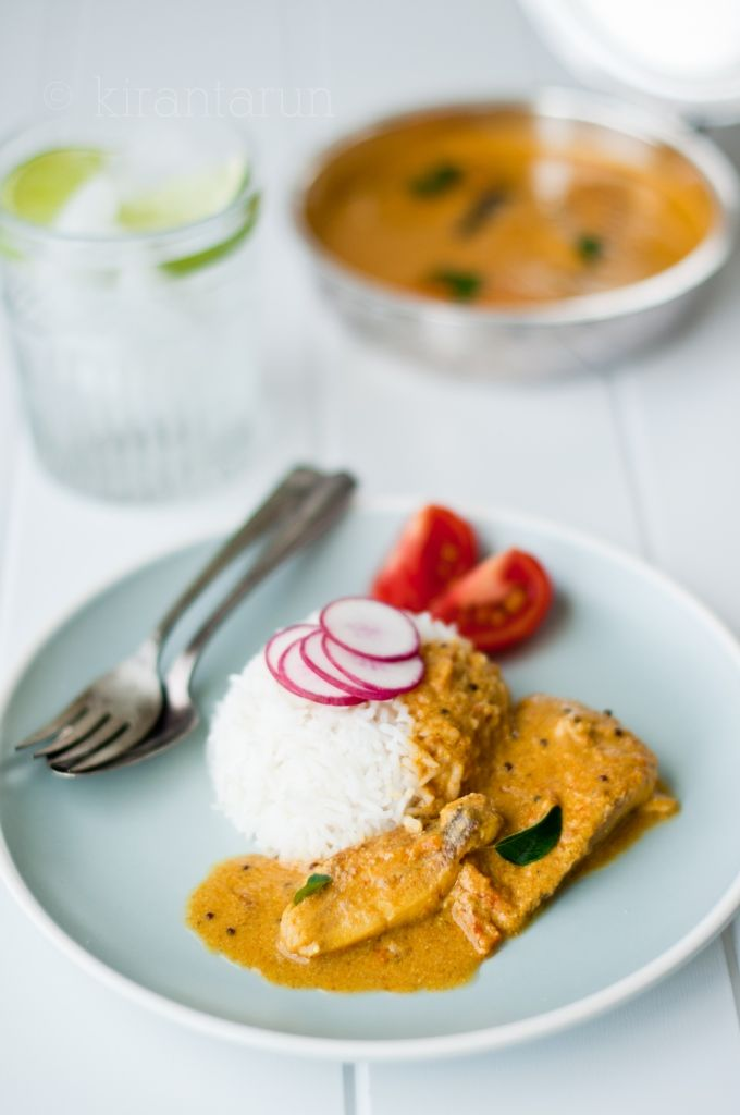 Coconut Fish Curry - This was SO good. It was not very easy to make, but I will definitely make again, and I think it will be easier next time, now that I know what to expect.