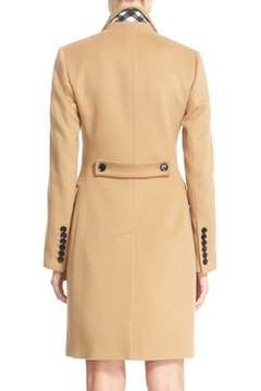 Alternate Image 2  - Burberry Sidlesham Wool & Cashmere Coat