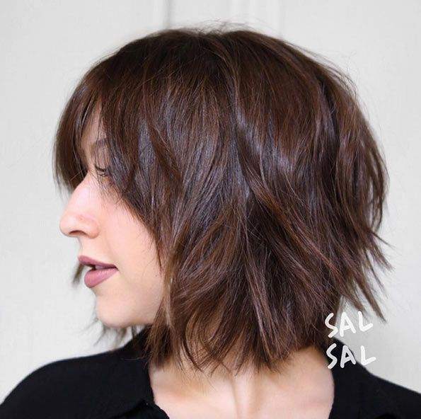 pretty easy hair styles 60 popular choppy bob hairstyles hair shag 2963 | e4c1b5e6b394057e2963d8b615f06748 short shag hairstyles sexy hairstyles