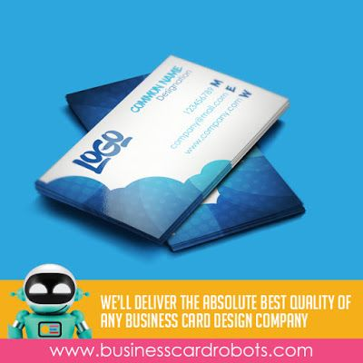 10 best business card design company images on pinterest business business card robots is the only business card design company you should turn to for your companys business card design needs colourmoves