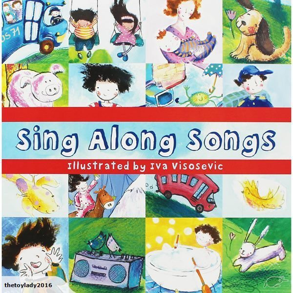 A beautifully illustrated book of Sing Along songs for you and your child to read and sing-along to.