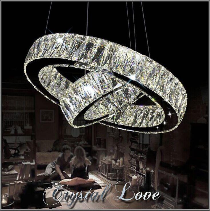find more pendant lights information about hot sale led k9 crystal ring pendant light lamp lustres led light