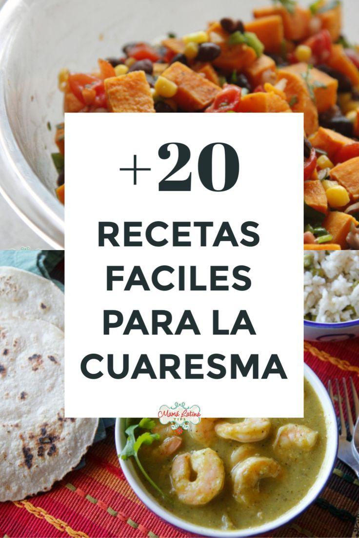 ¿No sabes que cocinar los viernes de cuaresma? No te preocupes, aquí encontrarás una lista de más de veinte recetas mexicanas fáciles que puedes preparar en casa. Encontrarás opciones de recetas con pescado, recetas con camarones y recetas vegetarianas. #comidamexicana #recetasparalacuaresma #recetasdepescado Mexican Food Recipes, Healthy Recipes, Ethnic Recipes, Friend Recipe, Recipe Girl, Shrimp Dishes, Health Diet, Potato Salad, Good Food