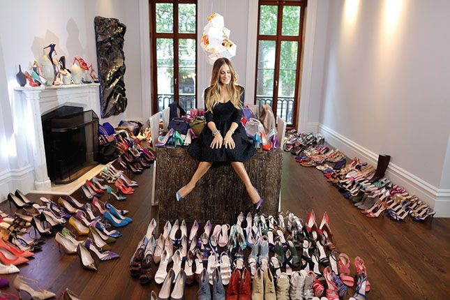I will take one of each!! /Paula - SJP's Shoe Collection Will Make You Miss Sex and the City via Brit + Co.
