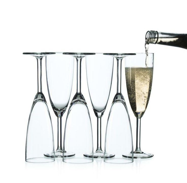ikea svalka champagne flute clear glass 6 pack size. Black Bedroom Furniture Sets. Home Design Ideas
