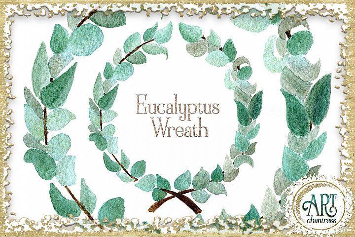 Free Illustrations Download Watercolor Boho Greenery Eucalyptus Wreath Png Free Design Resources Eucalyptus Wreath Free Design Resources Free Illustrations