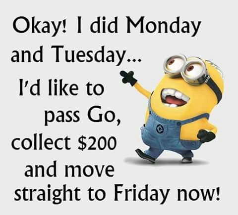 e4c1eebc140e9f1fa0f066a59b9d59f9 minion sayings minions quotes 52 best wednesday memes images on pinterest good morning, hump