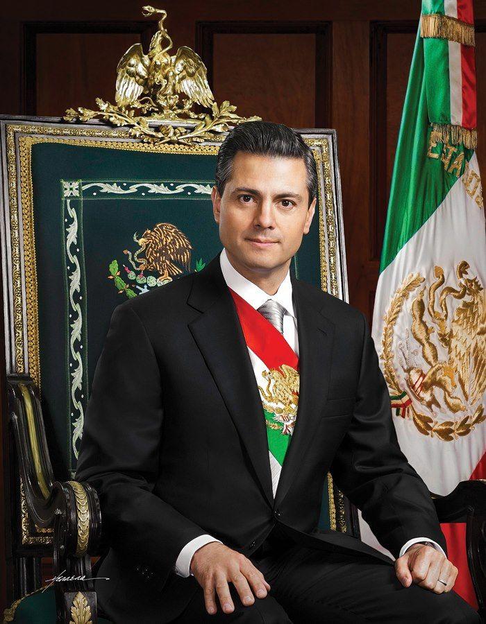 Presidencia publica la foto oficial de Enrique Peña Nieto | Excélsior