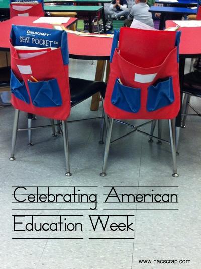 American Education Week |my scraps