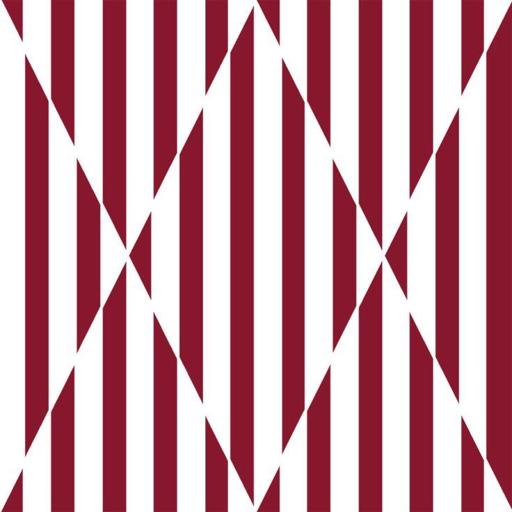 """Marsala Stripes""  #stripes #colors #graphics #design"