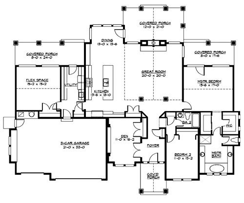 61 best houseplans 2400 2599 images on pinterest floor for Thehousedesigners com home plans