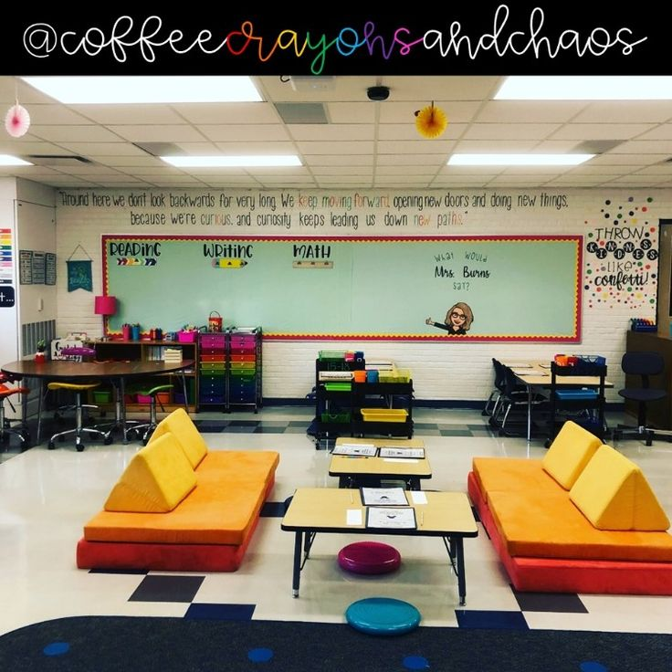 This nugget couch is amazing! My students would love this ...