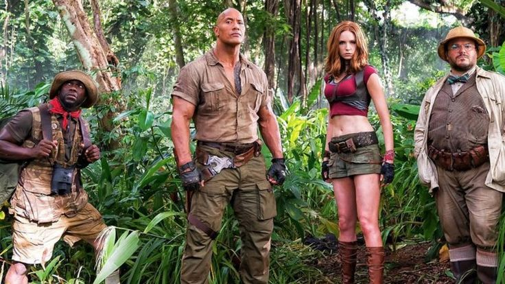 Jumanji is a Video Game in First Trailer for Jumanji: Welcome to the Jungle  –  SSWI TV SSWI TV    #Jumanji #KevinHart #TheRock #rock