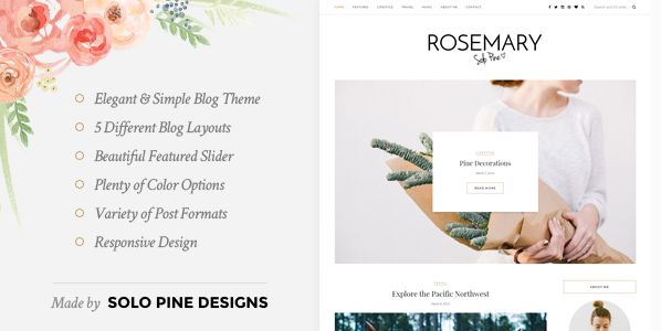Themeforest – WordPress: Rosemary – A Responsive WordPress Blog Theme on Themeforest Free Download http://themeforestfreedownload.com
