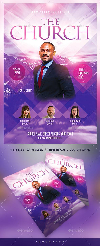 church flyer events flyers